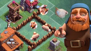 Video TRAP GIANTS INSIDE YOUR TROLL BASE | Clash of Clans | Builder Base Funny Fails MP3, 3GP, MP4, WEBM, AVI, FLV Agustus 2017