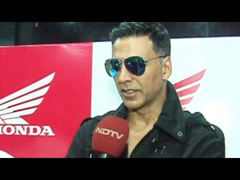 Akshay Kumar excited about Honda Africa Twin launch