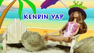 """Video Barbie Bebekler için Şezlong Yapımı   Nasıl Yapılır   EvcilikTV """"Kendin Yap"""" MP3, 3GP, MP4, WEBM, AVI, FLV Desember 2017"""