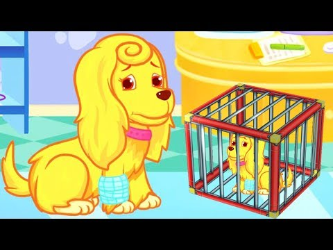 Fun Pet Care Kids Games - Play Puppy's Rescue & Care, Dress Up Games For Kids - Fun Animal Care Game