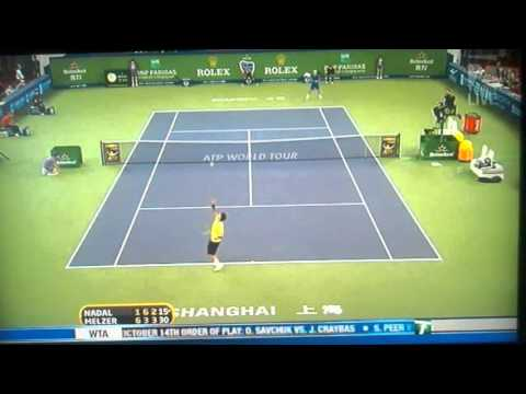 Jurgen Melzer elimina a Rafael Nadal del Masters Shanghai 2010