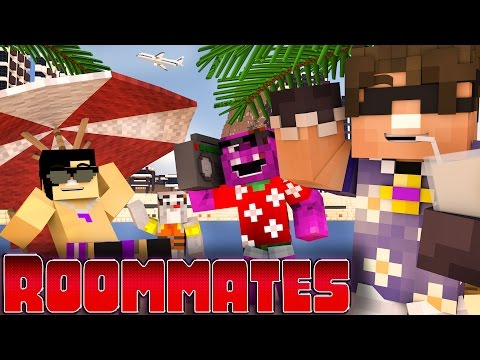 Minecraft Walkthrough - ROOMMATES! - \