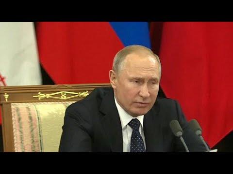 Πούτιν, Ροχανί και Ερντογάν αποφασίζουν για τη Συρία