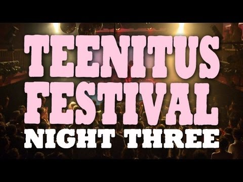 Network Awesome - Tue, Sep 24 The last of our 3 part series at the Teenitus Festival plus a whole lot of party!