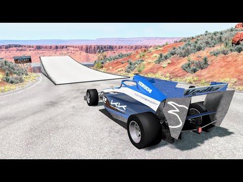 Who Needs Bridges Anyway? #3 - BeamNG Drive Jumps & Crashes | CrashBoomPunk