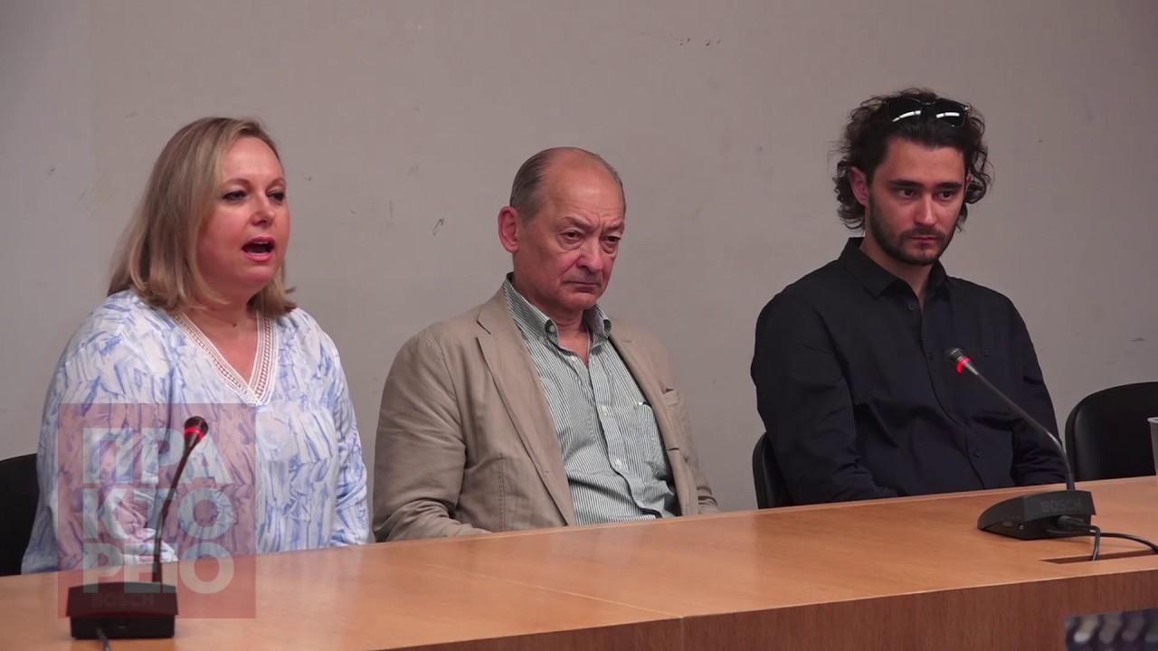 Συνέντευξη Τύπου Μιχαήλ Λαβρόφσκι των Μπαλέτων Μπολσόι