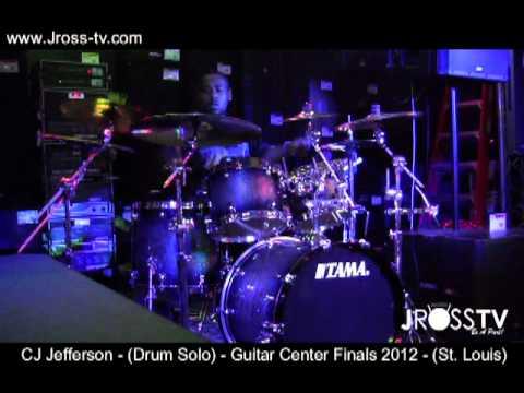 James Ross @ (Drummer) CJ Jefferson - Guitar Center Finals 2012 / St. Louis - www.Jross-tv.com