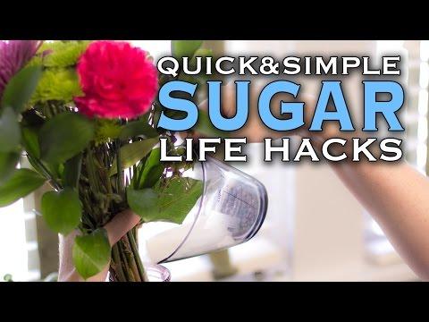 i più svariati usi dello zucchero!