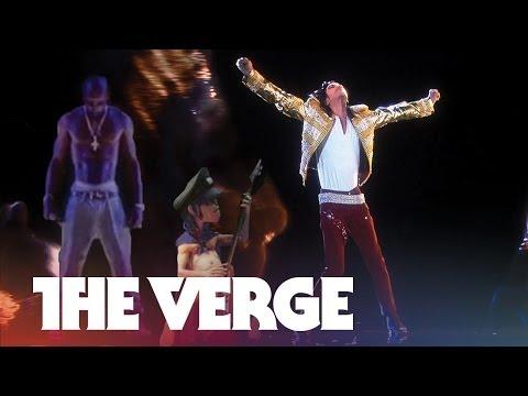 hologram performance - Michael Jackson's