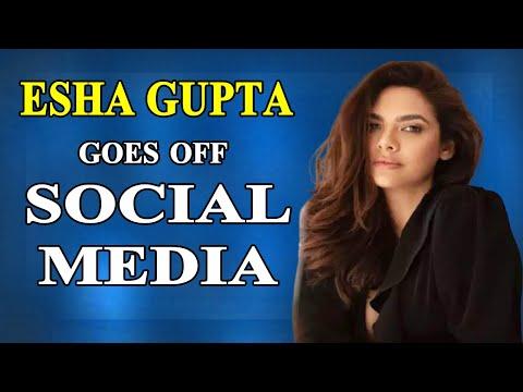After Fatima Sana Shaikh Esha Gupta takes a break from social media