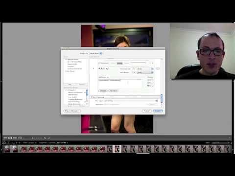 How to add EXIF shooting data watermarks to your images