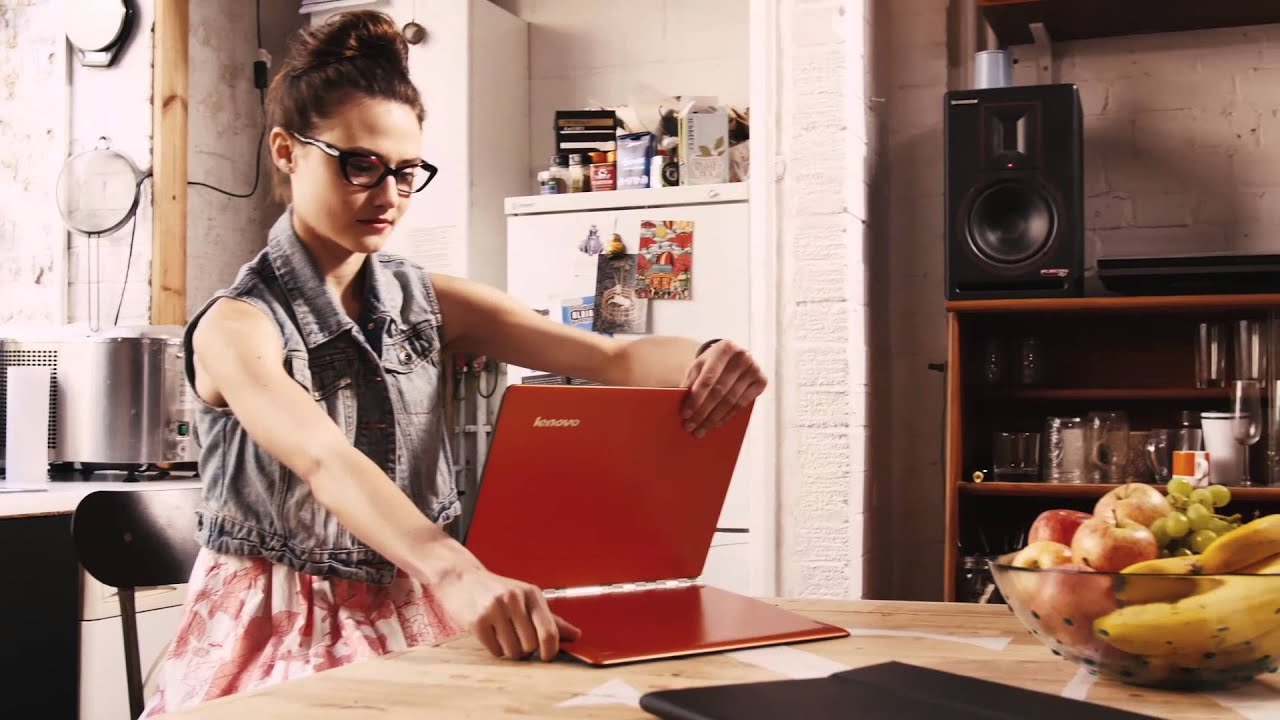 The new stylish hybrid notebook, Lenovo Yoga 3