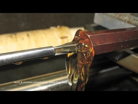 rifle - For the full length version of this and other MidwayUSA videos visit the MidwayUSA Video Library: http://bit.ly/IpjOry A specialized gunsmithing job is rebor...