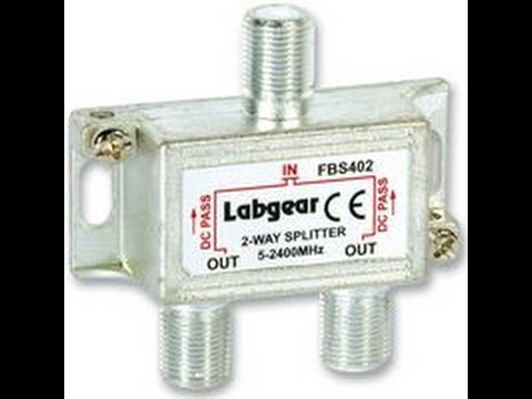 how to attach cable to lnb