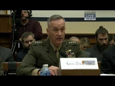 Chairman of the Joint Chiefs of Staff Dunford: 'We have not contained ISIL'