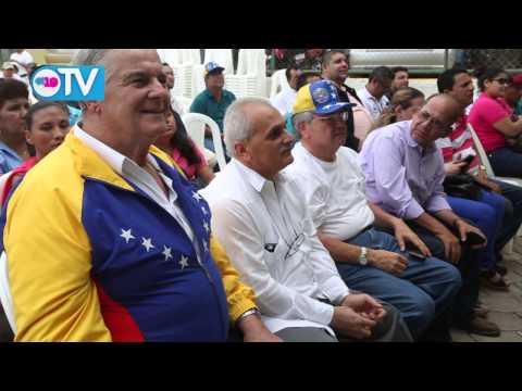 Trabajadores de CARUNA rinden homenaje al cmdte. Hugo Chávez Frías