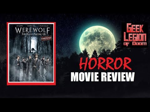 WEREWOLF : THE BEAST AMONG US ( 2012 Ed Quinn ) Horror Movie Review