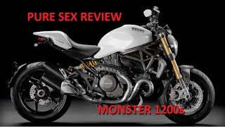 10. Ducati Monster 1200s Review, Diavel Mini-Burnout, Ducati 821 Drag Race