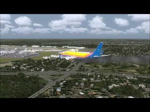 737-800 Emergency Landing Miami