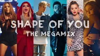 SHAPE OF YOU | The Megamix ft. Selena Gomez, TØP, Ariana Grande, Justin Bieber, and more