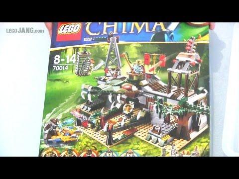 Vidéo LEGO Chima 70014 : Le repaire Croco