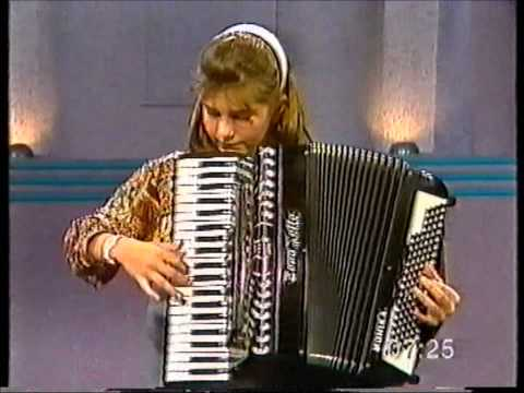 Monika Kahl, 13 years old playing accordion live on GMSA