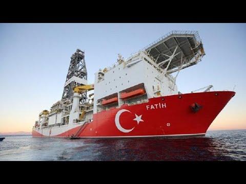 Η Τουρκία ξεκίνησε γεωτρήσεις βορειοανατολικά της Κύπρου …