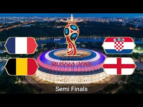 Fifa World Cup 2018 | Semi Finals | Fixtures | Date | Time | Venue | Full Schedule