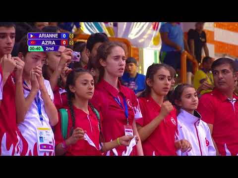 [FEMALE -37kg] 3rd WORLD TAEKWONDO CADET CHAMPIONSHIPS FINAL