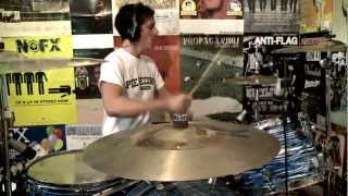 Blink 182 - Heart's All Gone (Drum Cover) [HD] - Kye Smith