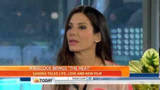 Sandra Bullock: 'I let loose' in 'The Heat'