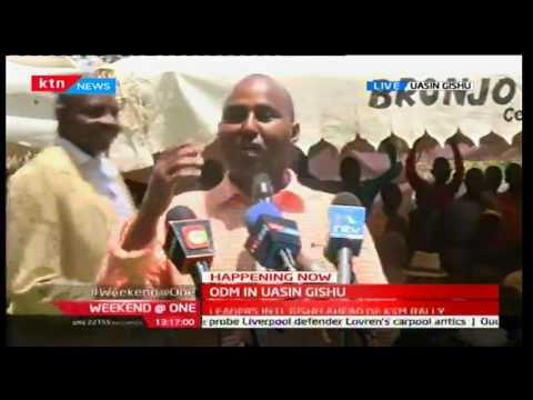 Weekend @ One: ODM leaders in Uasin Gishu ahead of Kisumu rally,1/10/2016