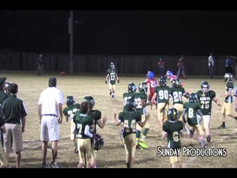 5th Grade Football Team Final Play Fail