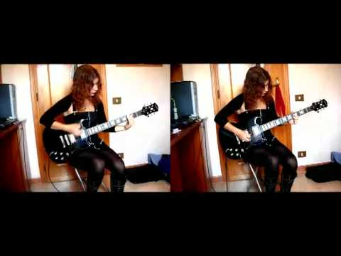 Wednesday 13 - Haunt Me ~ Guitar Cover by Federica Putti