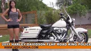 1. Used 2011 Harley Davidson Road King Police Motorcycles for sale