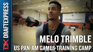 Melo Trimble 2015 US Pan-Am Games Training Camp Interview