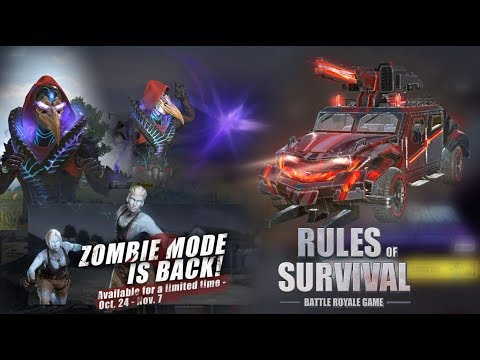 Spooooky Skins, Double Legendary Carnival Pulls & Zombies Are Back! Rules Of Survival Update