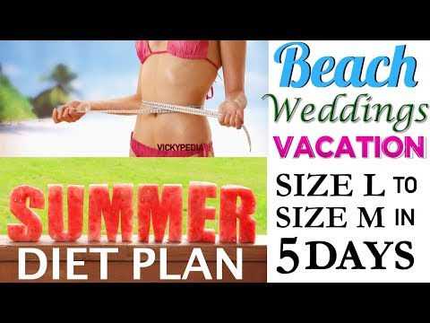Bridal Diet Plan For Weight Loss | Lose Weight 5 Kgs in 5 Days with Wedding Diet Plan Hindi