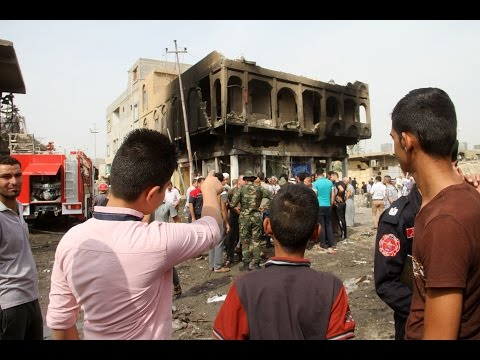 Three provinces, three attacks... car bombs in Baghdad and Iraq's north and south killed at least 57 people on Monday.