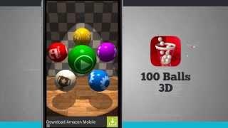 100 Balls 3D videosu