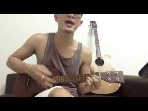 ไม่ต่างกัน ukulele cover by Oda (видео)
