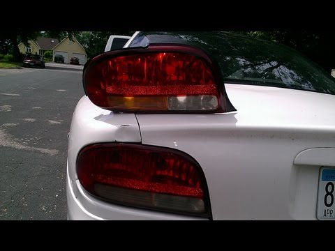 Replacing Tail Light on Olds Intrigue 1080p
