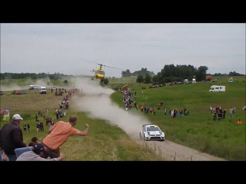 crazy heli pilot Rally Poland 2014
