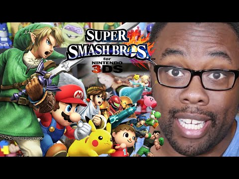 Nerd - Black Nerd first impressions of the Smash Bros 3DS Demo. SUBSCRIBE! Join the Black Nerd Cousins: http://bit.ly/subbnc http://twitter.com/blacknerd | http://f...