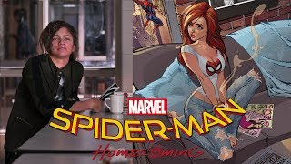 Spider-Man Homecoming Kevin Feige & Amy Pascal Confirm whether Zendaya is Mary Jane (SpoilerS)