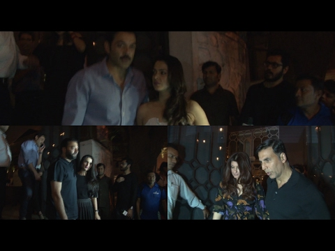 Akshay kumar With Twinkle Khanna Spotted At Korner House For Dinner