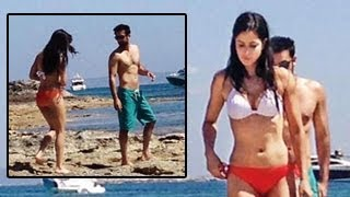 Katrina Kaif caught in a BIKINI with Ranbir Kapoor in Spain
