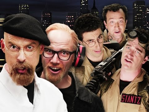 Ghostbusters vs Mythbusters.  Epic Rap Battles of History Season 4. (видео)