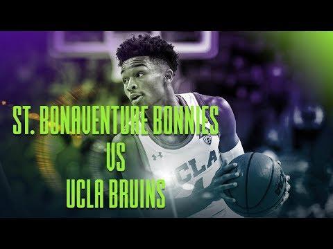 St. Bonaventure Bonnies vs. UCLA Bruins | Sports BIT | NCAAB Picks