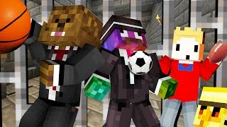 SPORTS COPS AND ROBBERS HIDE AND SEEK MOD - Minecraft Modded Minigame full download video download mp3 download music download